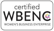 Certified WBENC badge